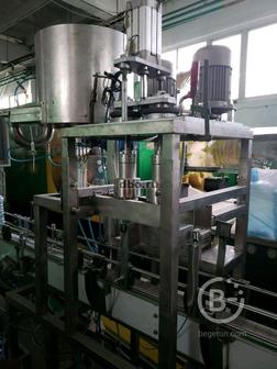 Линия Розлива антисептика в бутылки 5л автомат новое
