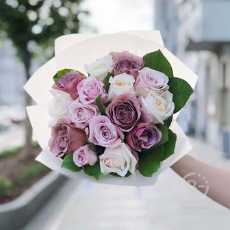 Букет из садовых роз №5