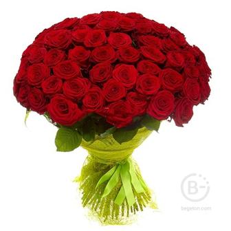 """Букет из 101 розы """"Красные"""""""
