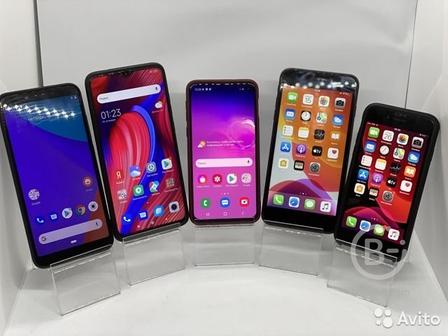 Телефон Samsung S10e, Xiaomi redmi note 8 pro, iPh