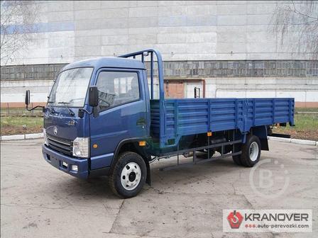 Аренда открытого грузового авто 1 тонна