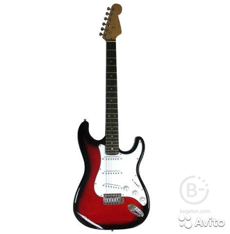 Электрогитара Stratocaster + чехол