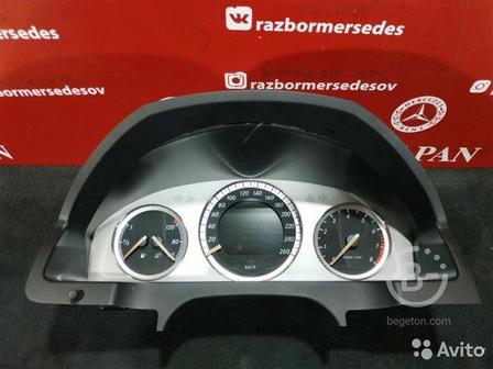 Щиток приборов Mercedes W204 C204 M272.947 3.0