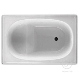 Ванна стальная BLB, EUROPA mini 105x70, с сиденьем, без ножек