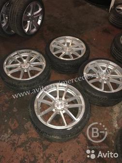 Колеса ковка rotiform R18 Mercedes