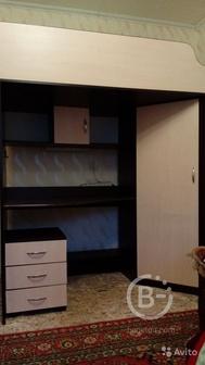 Детская мебель: кровать чердак со шкафом
