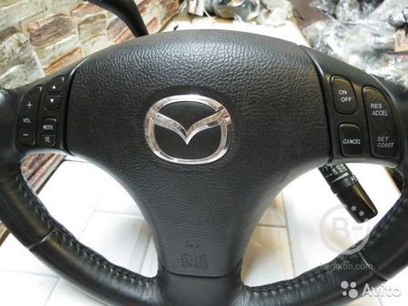 Подушка безопасности руля Mazda 6 MPS GG