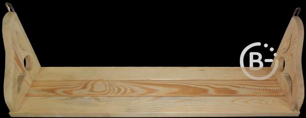 Вешалки и полки деревянные