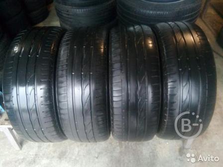 Шины бу 225 55 17 Bridgestone 225/55r17