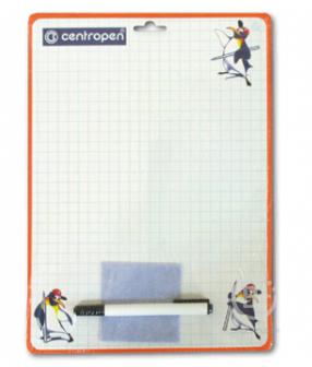 Доска маркерная CENTROPEN А4, 240*337 мм