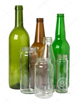 Стеклянная бутылка в ассортименте