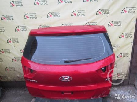 Крышка багажника Hyundai Creta 2018 год