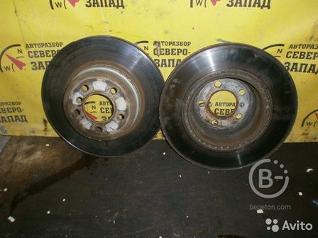 Диск тормозной задний Bmw X5 E70