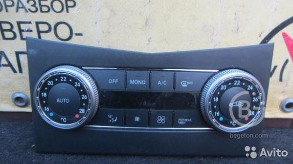 Блок управления климатом Mercedes GLK X204 2011