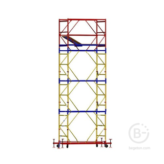 Вышка-тура 7,6м (раб. пл. 1,2х1,6 h-6.5v)