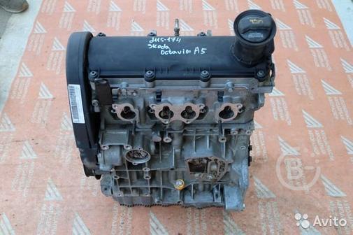 Двигатель 1.6 BSE Skoda Octavia A5 2004-2013