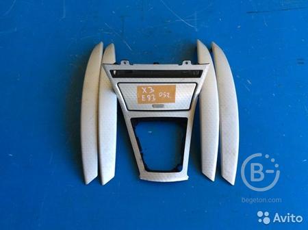 Декоративная накладка салона на BMW X3 E83 03-06г