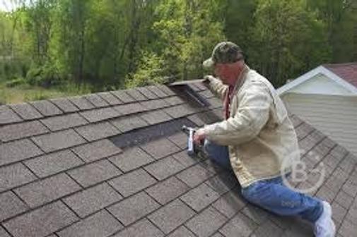 Ремонт крыши.