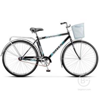 """Велосипед Navigator-300 Gent (20"""" Серый) (LU085341) ( с корзиной)"""