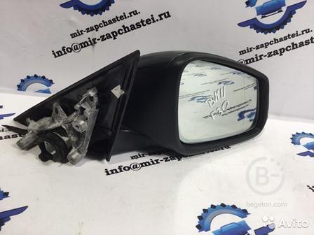 Зеркало боковое правое BMW 3 F30 2015-2020 черный