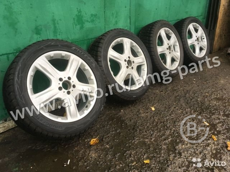 Колеса зимние R19 Bridgestone Blizzak DM V2 255 50