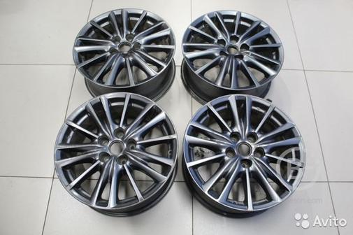 Комплект колесных дисков алюминиевых R17 Mazda CX
