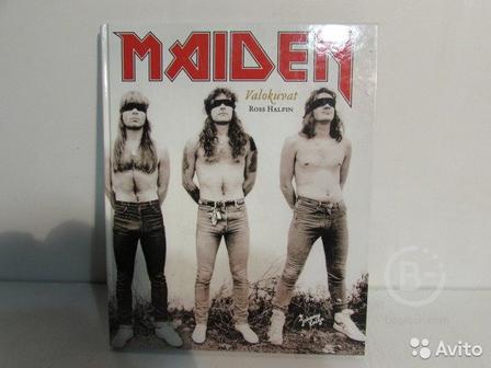 Iron Maiden Книга-Photo book