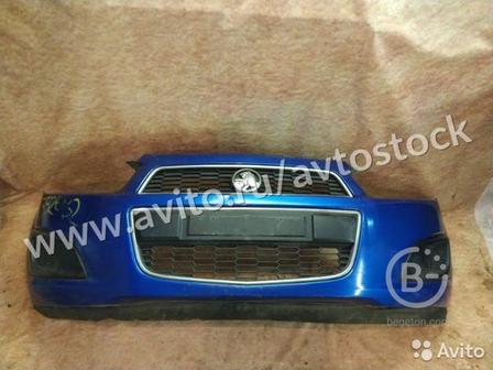 Бампер в сборе Chevrolet Aveo T300