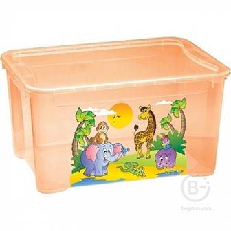 Ящик для игрушек Бытпласт С 13776