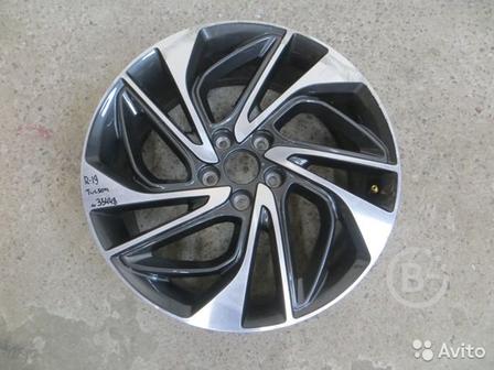 Hyundai Tucson c 2018) Диск колесный легкосплавный