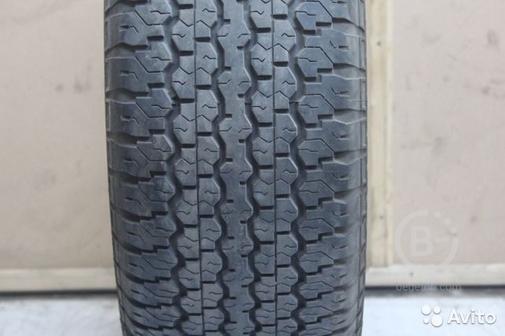 275 70 R16 Dunlop Grandtrek Japan