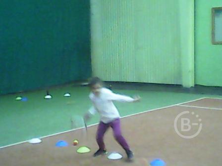 Тренировки по теннису