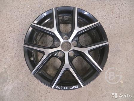 Toyota Rav 4 c 2013) Диск колесный легкосплавный
