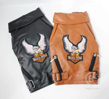 Куртка Харлей-Дэвидсон (2 цвета) для кошек и собак