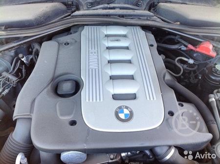 Двигатель. M57N. D30. (306D3 ). BMW. E60. E61. E91
