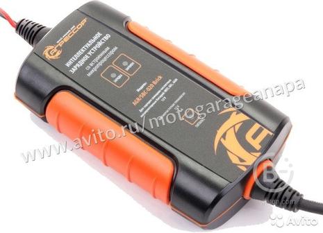 Цифровое зарядное устройство для акб Агрессор