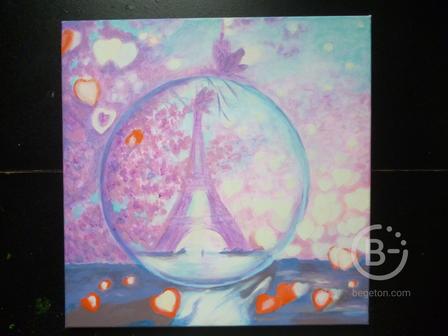 """Картина """"Мой Париж"""""""