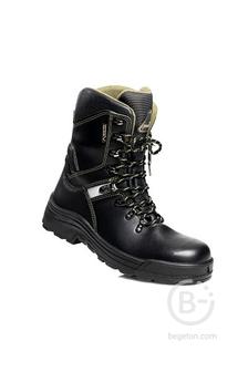 Ботинки кожаные Капитан Гор с высокими берцами, с мембраной GORE-TEX