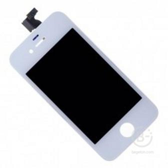 Дисплей c тачскрином для телефона iPhone 4 (класс AAA) белый (iPhone 4)