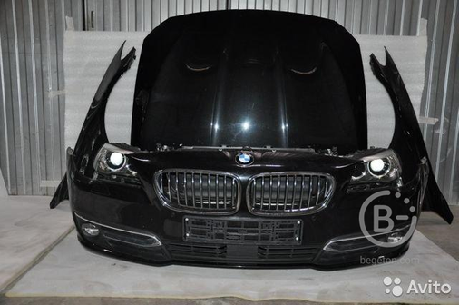 Капот крыло бампер фары передняя панель BMW F10