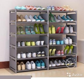 Подставка для обуви серый