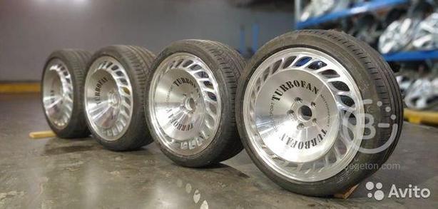 Диски R19 Messer и шины R19 Continental