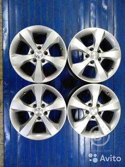 5х108 комплект литых дисков Ford Volvo