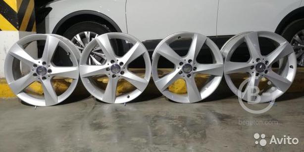 Оригинальные новые литые диски R19 Mercedes Benz