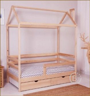 Детская кровать Incanto Dream home с ящиками