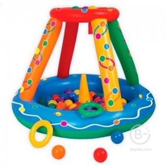 Сухой бассейн (надув.) Игровой центр +50 шаров