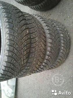 Шины зима шипы Michelin 175-65R14 4-2-1шт