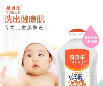 Детский аминокислотный шампунь-гель