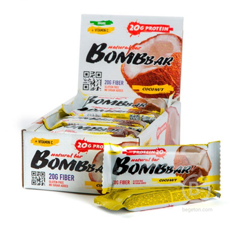 Батончики протеиновые Bombbar  Protein Bar 60 гр.