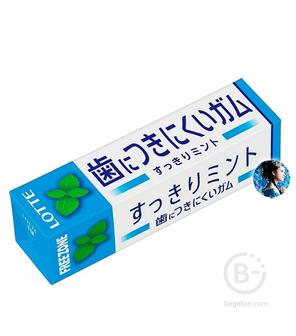 Жевательная резинка Lotte Free zone gum mint со вкусом мяты